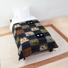 Over the Garden Wall - the squared remix Comforter