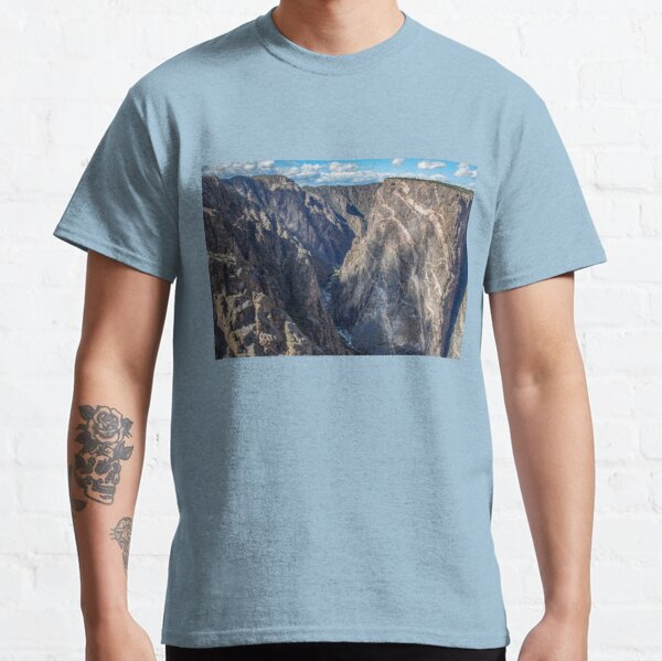 USA. Colorado. Black Canyon of Gunnison National Park. Painted Wall. Classic T-Shirt