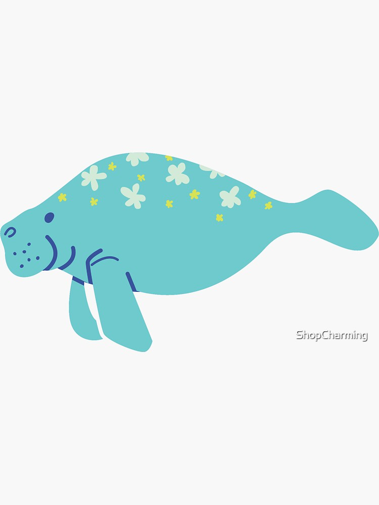 Oh the Hue-Manatee: bright  by ShopCharming