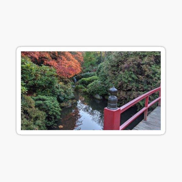 Kubota Japanese Garden in Seattle Sticker
