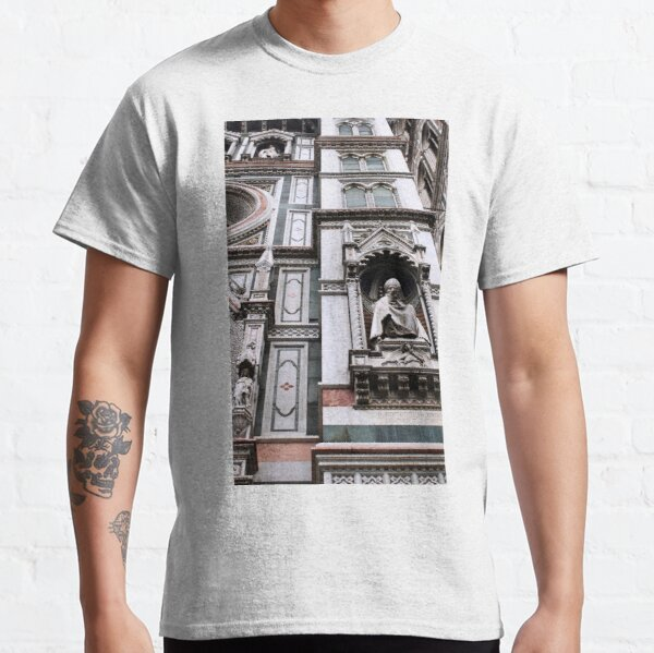 The Facade of St. Mary's Cathedral, Florence Classic T-Shirt