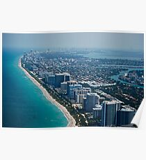 """south beach"" miami Poster"