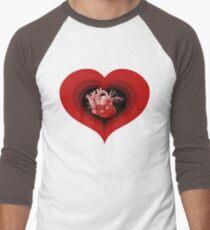 Delicious Valentine Men's Baseball ¾ T-Shirt