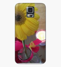 Butterfly Flower Case/Skin for Samsung Galaxy