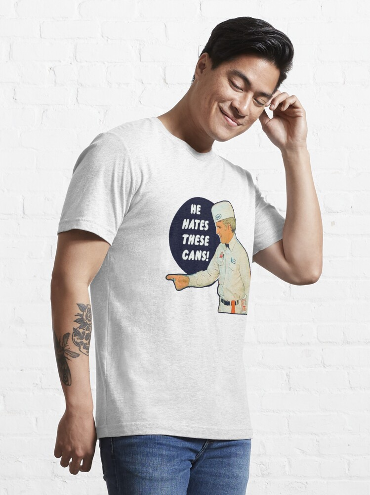 Alternate view of The Jerk - He Hates These Cans Essential T-Shirt
