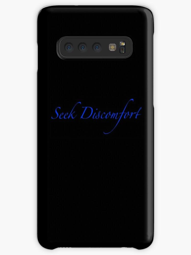 Seek Discomfort Custom Merchandise Case Skin For Samsung Galaxy By Ethanf04 Redbubble
