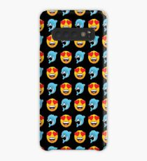 Love Dolphin Emoji JoyPixels Lovely Cute Funny Dolphins Case/Skin for Samsung Galaxy
