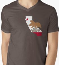 NCR Mens V-Neck T-Shirt