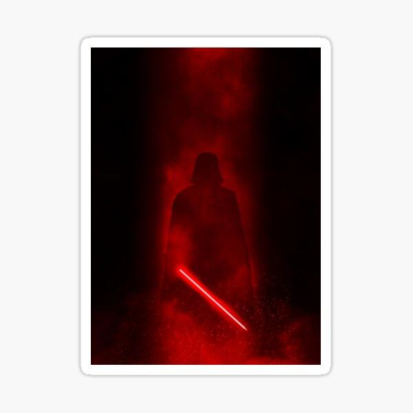 Vader Minimal Sticker