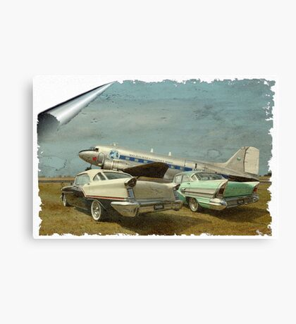 Aviation of the Past Canvas Print