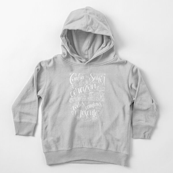 Trust in The Lord - white version Toddler Pullover Hoodie
