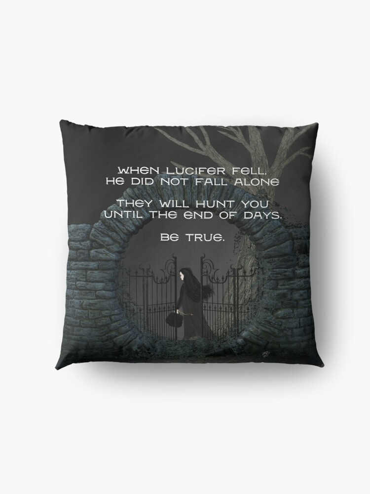 Alternate view of Penny Dreadful Vanessa's Omen and Warning Floor Pillow