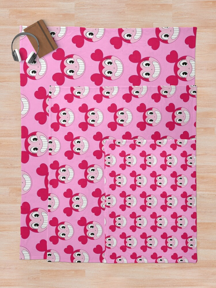 Alternate view of Funny Spinel cartoon face (Steven Universe The Movie) Throw Blanket