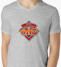 Nurse Practitioner Who Men's V-Neck T-Shirt