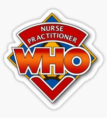 Nurse Practitioner Who Sticker