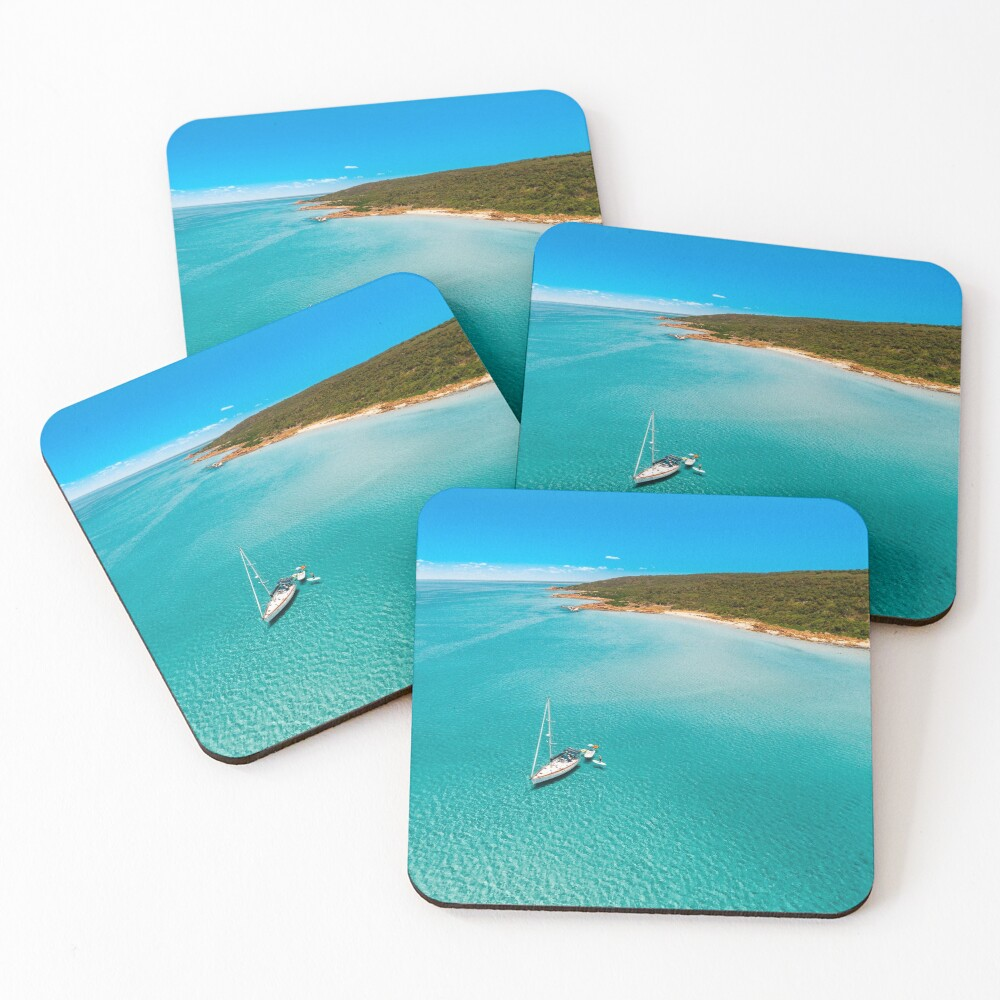 Meelup, Western Australia Coasters (Set of 4)
