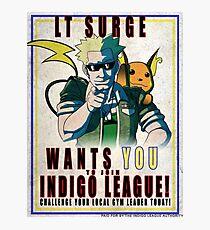 Lt. Surge Wants You! Photographic Print
