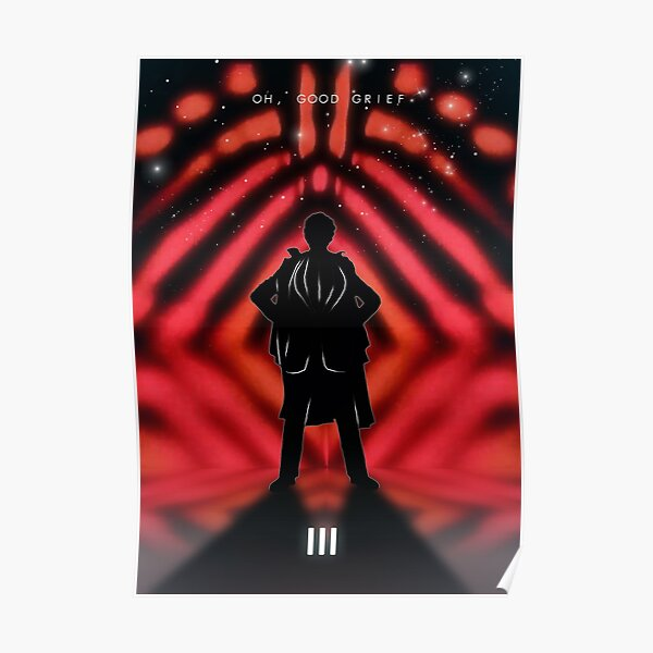 The Third Doctor Who Poster