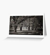 Fee's Bridge in Autumn Greeting Card