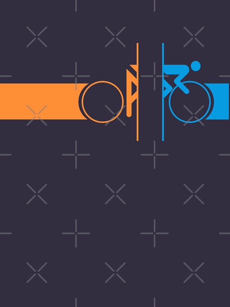 Bike Stripes Portal | Unisex T-Shirt