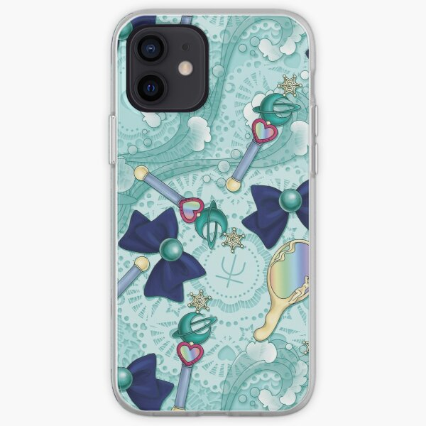 Neptune Planet Power - Scatter Print iPhone Soft Case