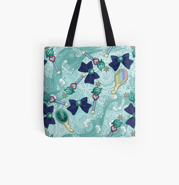 Neptune Planet Power - Scatter Print All Over Print Tote Bag