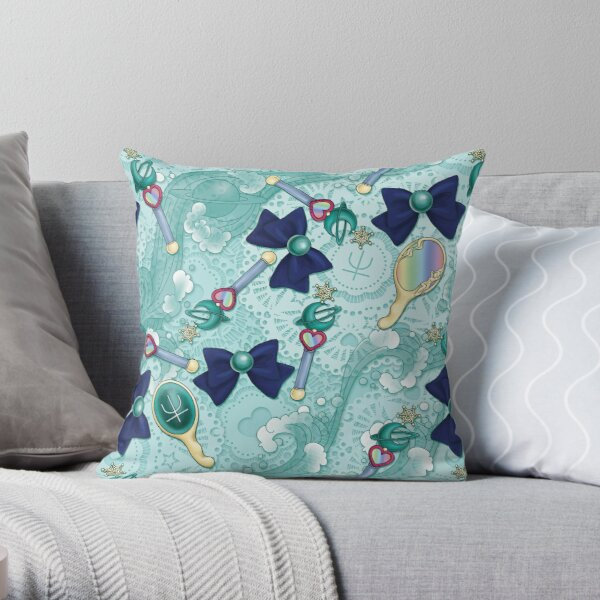 Neptune Planet Power - Scatter Print Throw Pillow