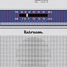 Transistor Radio - 70's Hobbyist by ubiquitoid