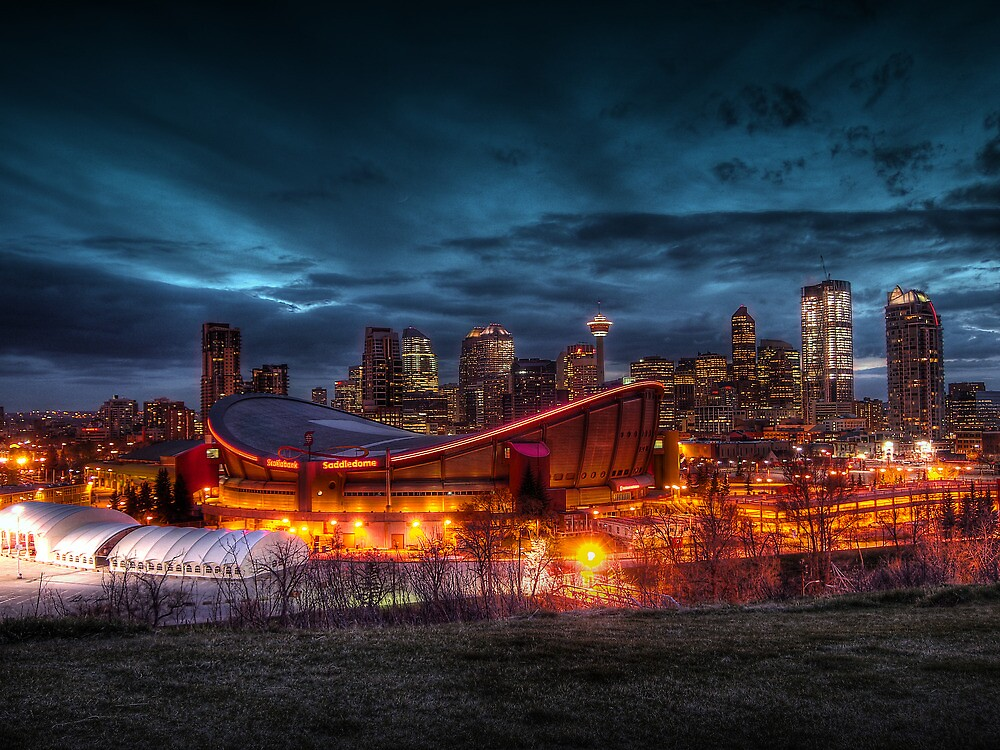 Calgary Cityscape by Chad Kruger