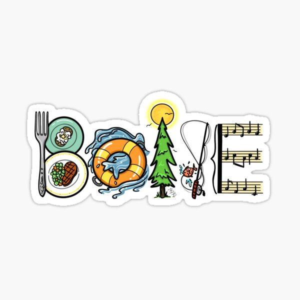 Boise Life Sticker