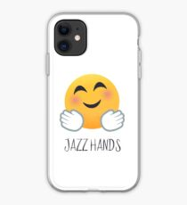 Jazz Hands Emoji iPhone Case