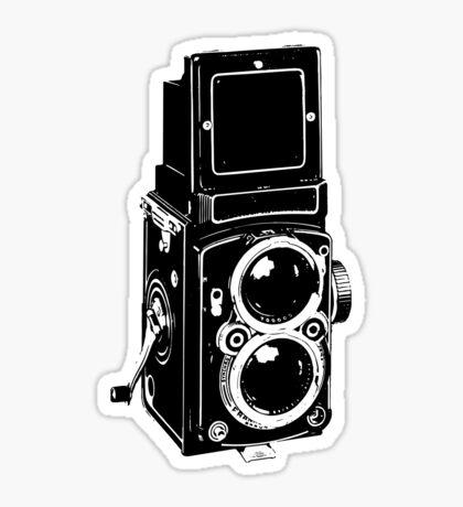 Old School Camera Sticker