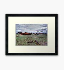 Fleetwood Marsh Framed Print