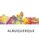 Albuquerque-Skyline WB1 von Marlene Watson