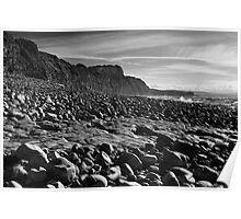 Quantoxhead Rock Shelves Poster