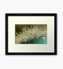 Smoky Blue Framed Print