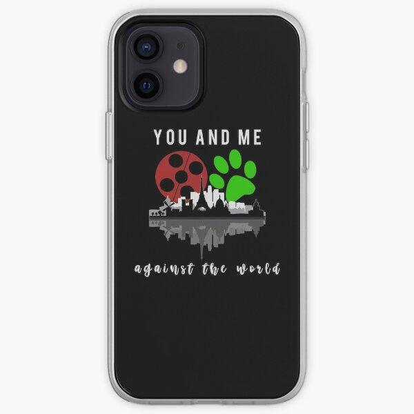 You and me against the world Funda blanda para iPhone