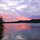 tweed river dusk... by gail woodbury