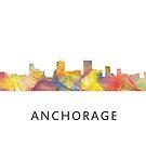 Anchorage Skyline WB1 von Marlene Watson