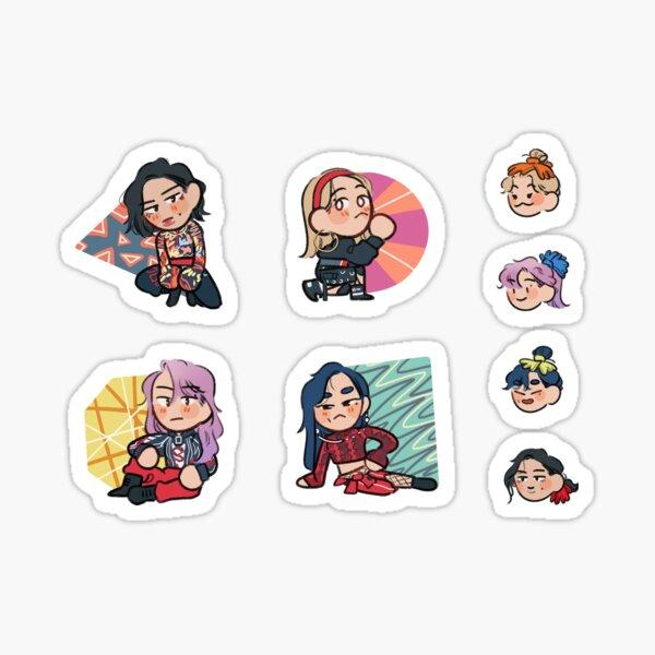 Mamamoo 1st Universe Sticker