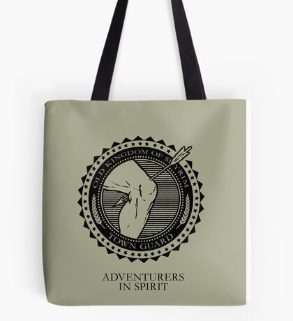 Town Guards Tote Bag