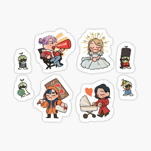 Mamamoo 2nd Universe Sticker