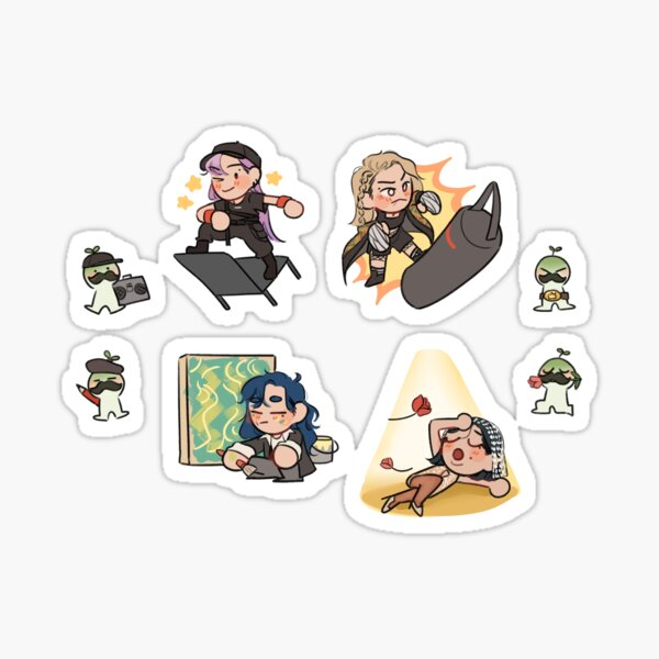 Mamamoo 3rd Universe Sticker