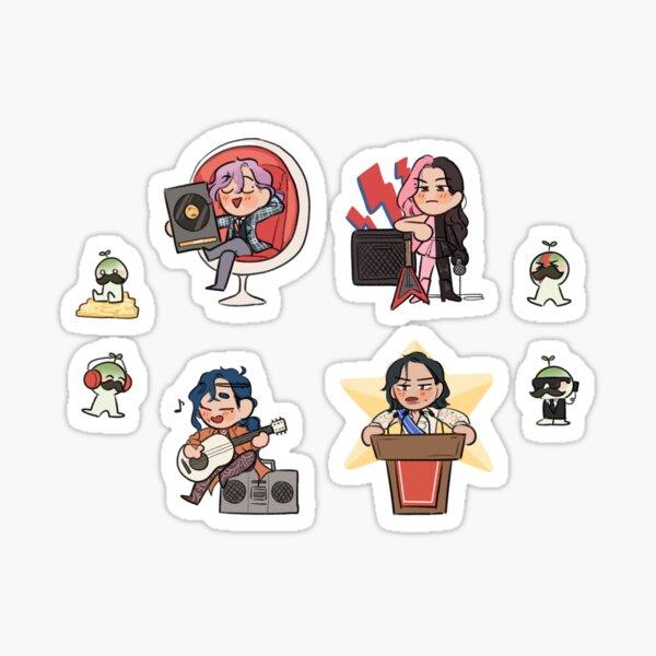 Mamamoo 4th Universe Sticker
