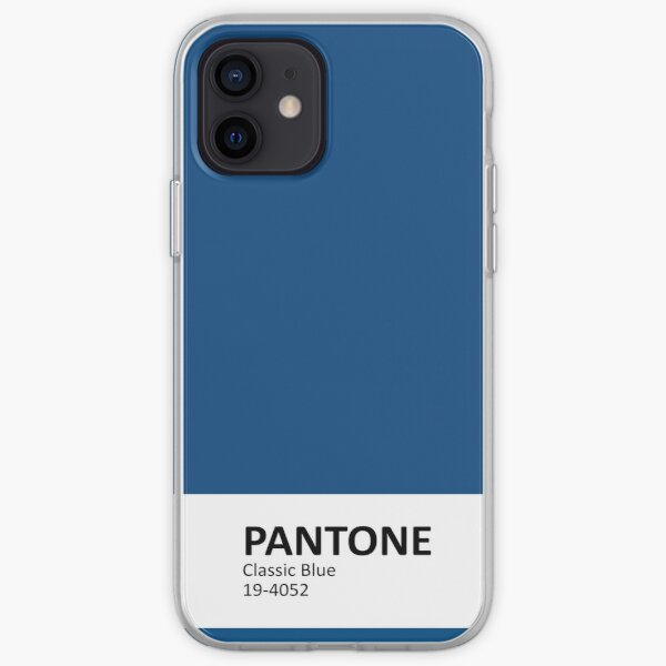 Pantone 2020 Classic Blue v3 iPhone Soft Case