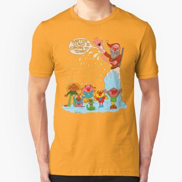 Santer Claus  Slim Fit T-Shirt