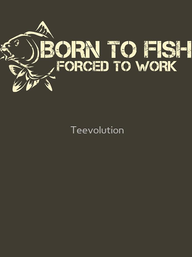 Born to fish | Unisex T-Shirt