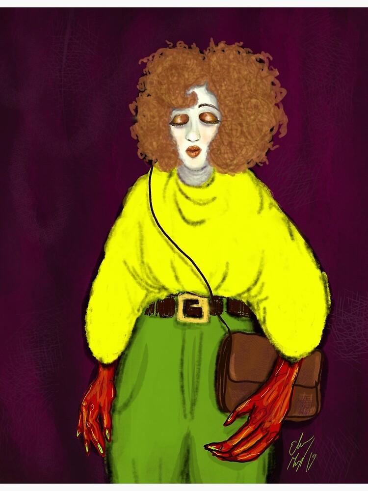 Girl with Handbag by GroglioArt