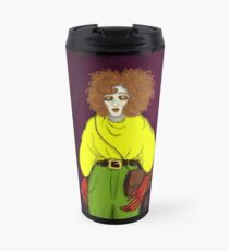 Girl with Handbag Travel Mug