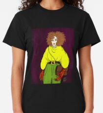 Girl with Handbag Classic T-Shirt